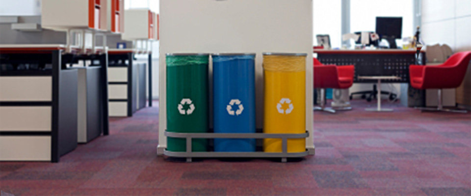 All Aboard…Centralized Recycling Stations